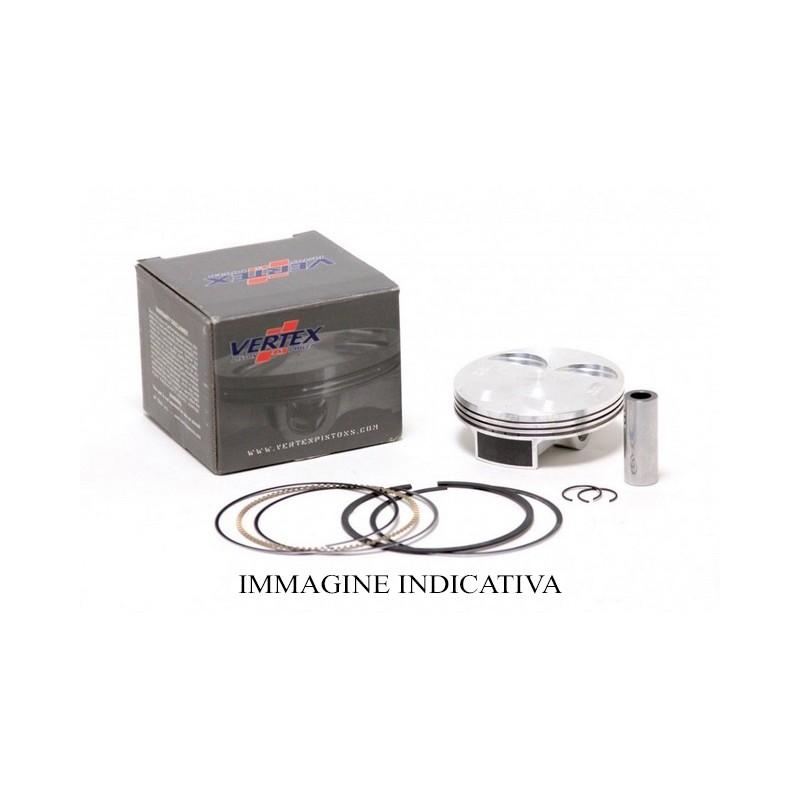 Manubrio PRO-TECH 22 mm piega alta titanium - WD-1030-025