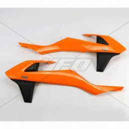 Protezioni radiatore Husqvarna 250 TC (15) arancioni - 60140A0010