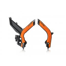 Protezioni telaio Acerbis KTM SX F 250 (2019/20) Nero/Arancione